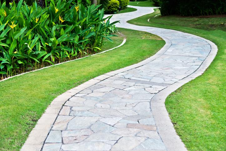 Flagstone Natural Stone Walkway Ideas Grand River Ltd