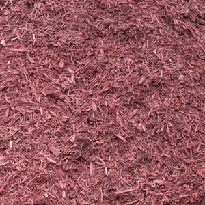 Red Dyed Mulch